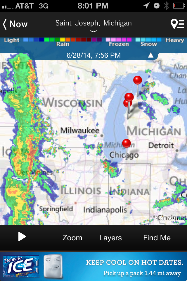 This storm shouldn't be to bad:(