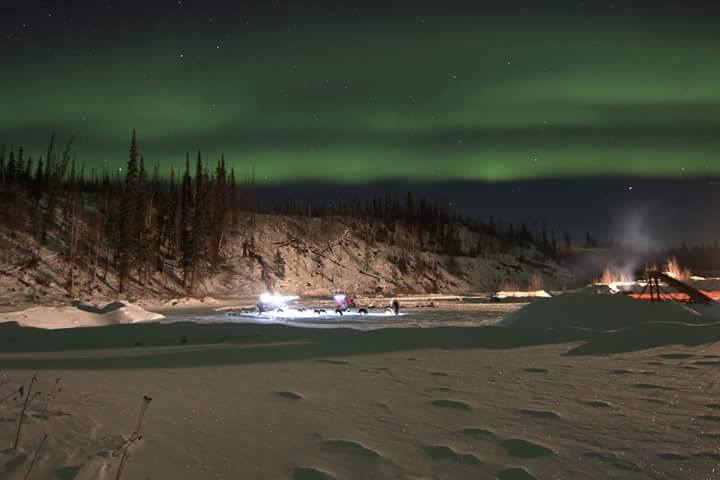 Northern Lights of the Two Rivers checkpoint