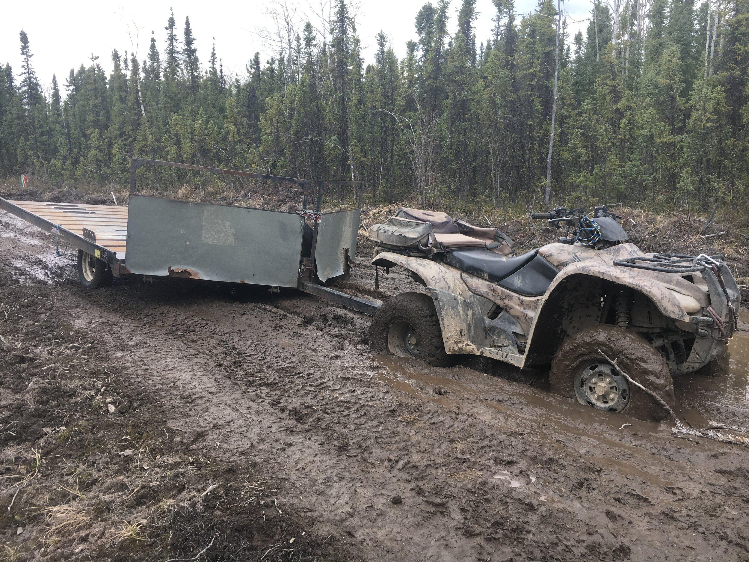 Found the mud pit.