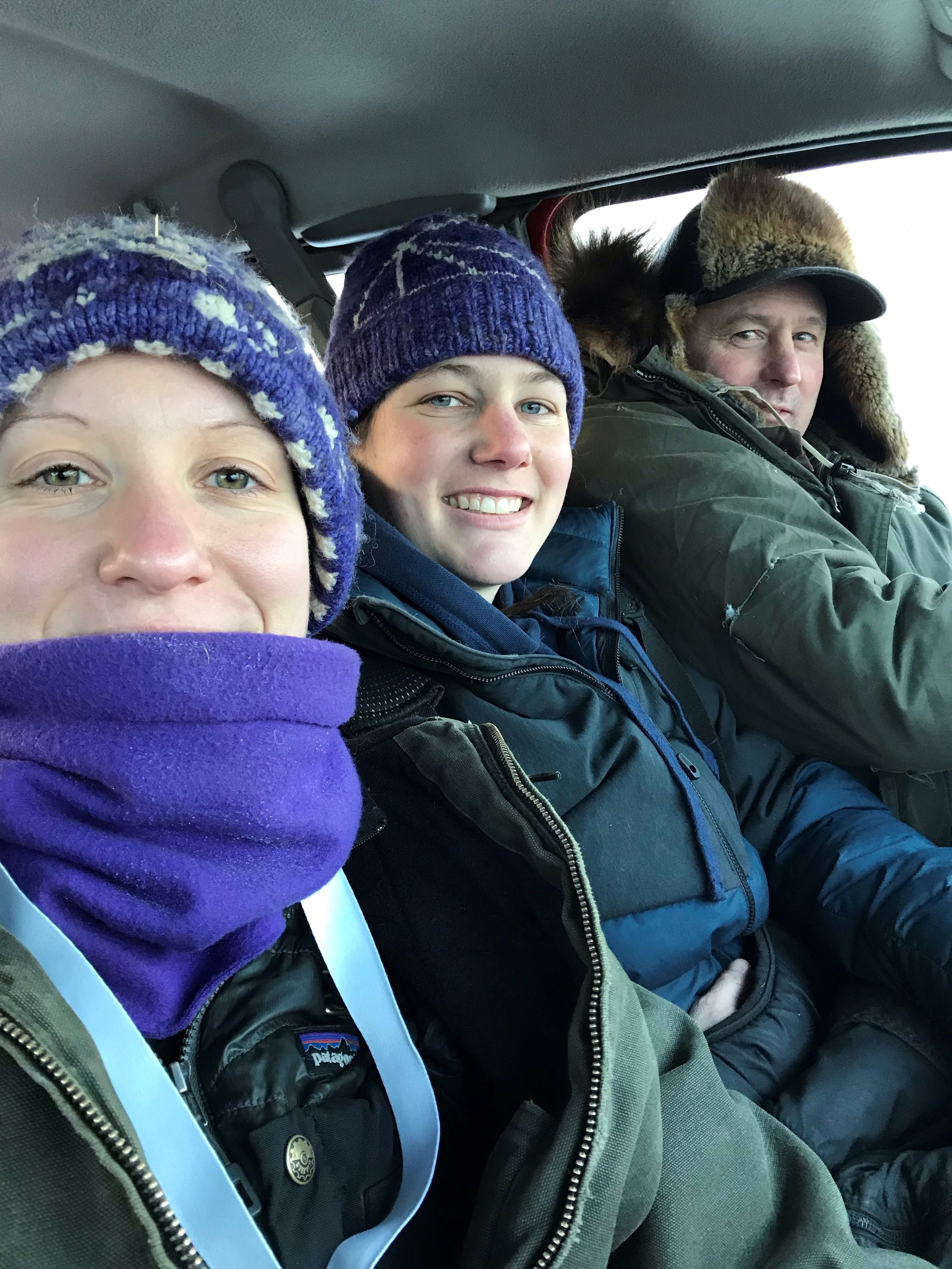 Ryno Kennel Extraordinaire:  Kaylnn, Ryne, and Derek!