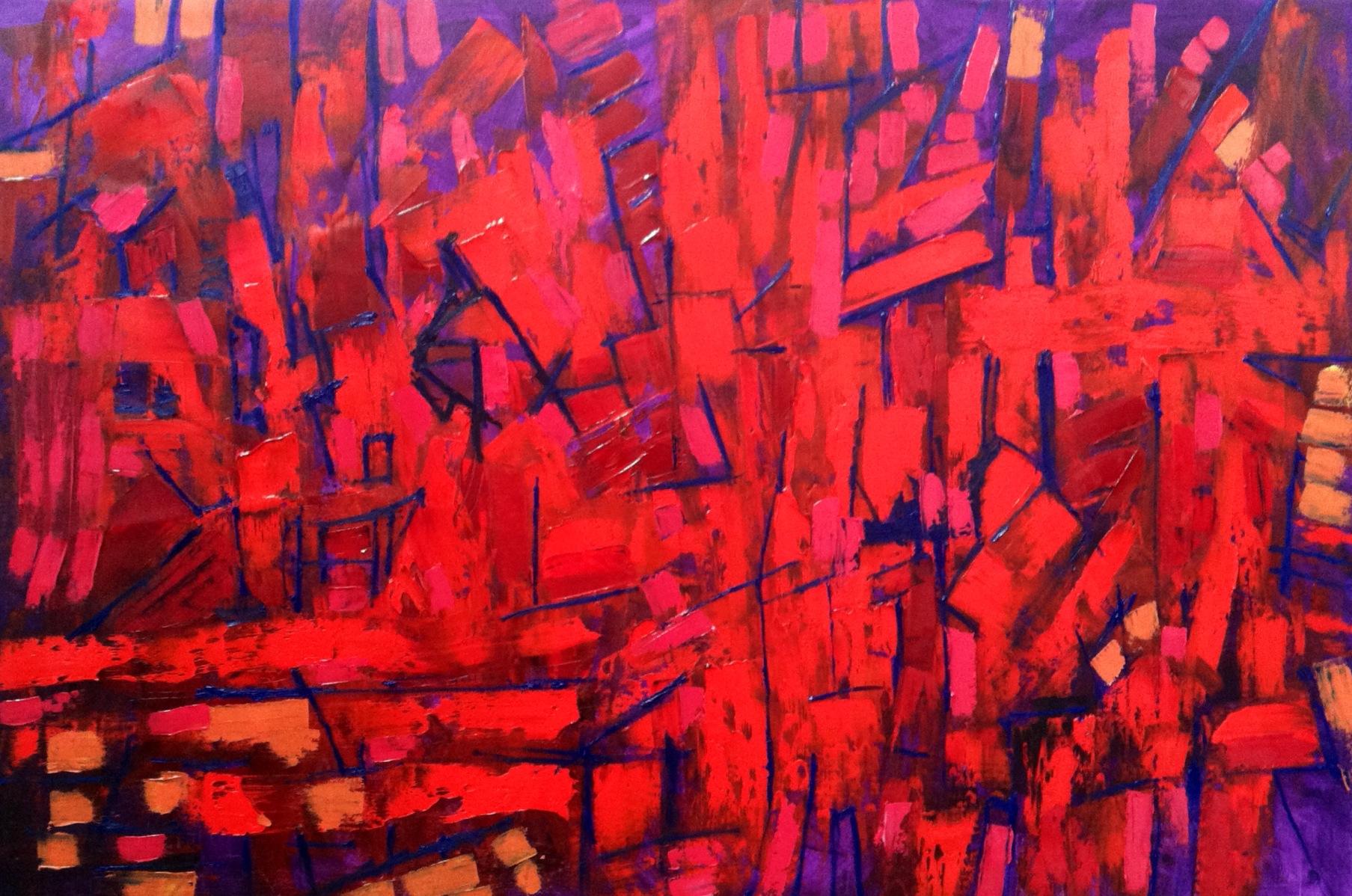 "oil on canvas, 60"" x 44"""