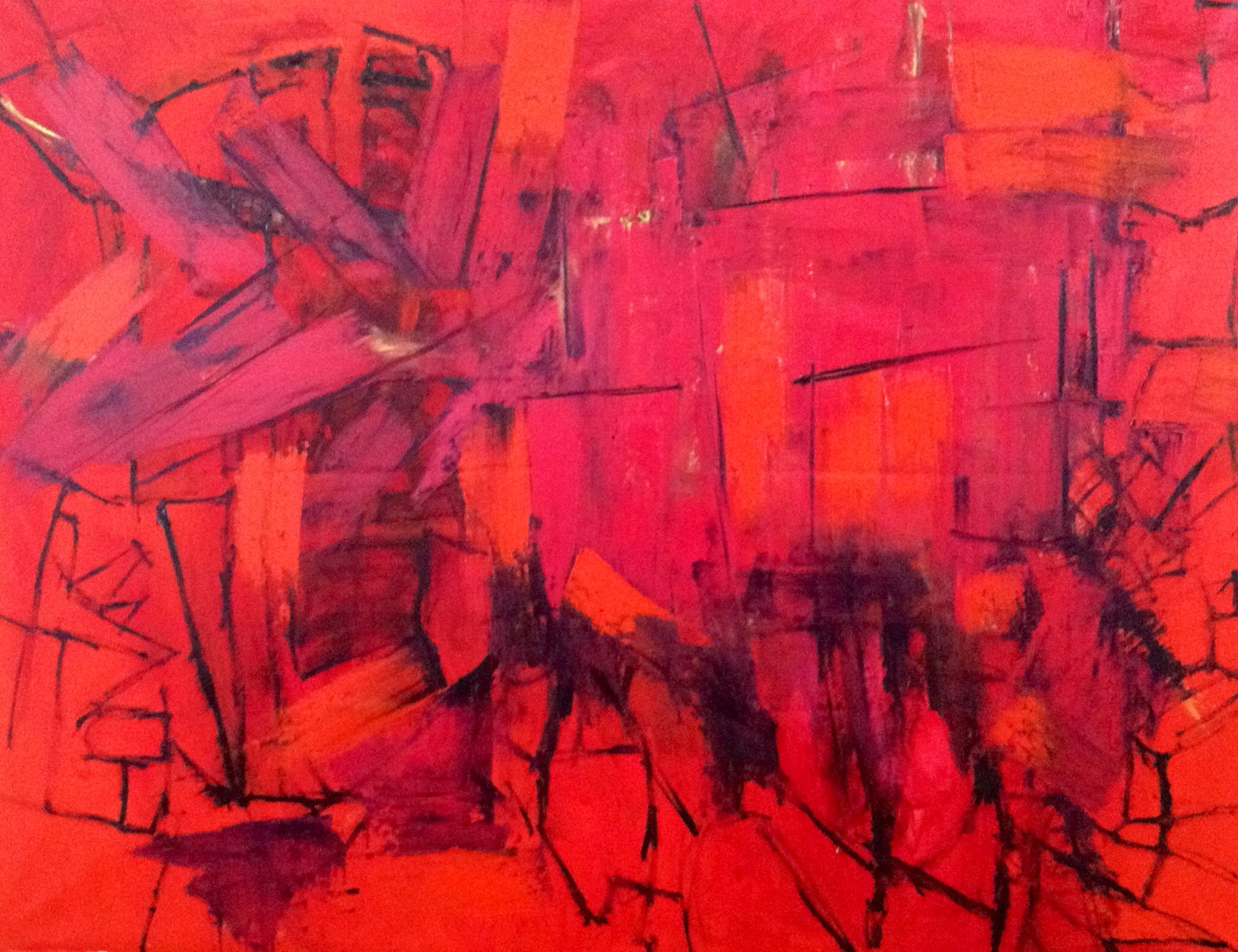 """oil on canvas, 60"""" x 48"""", SOLD"""