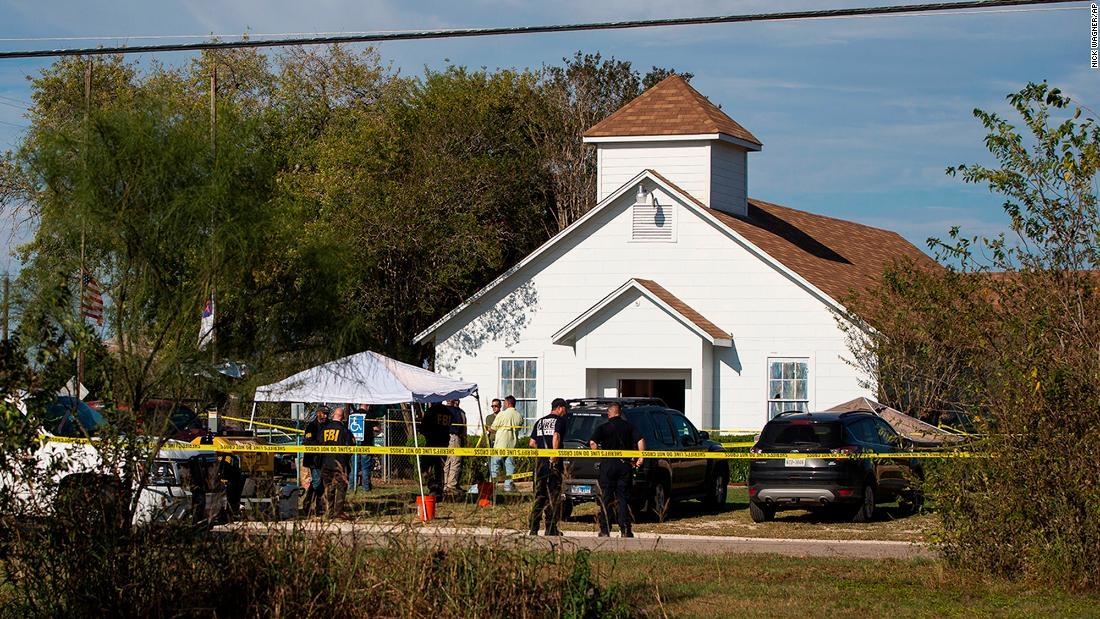 First Baptist Church (Sutherland Springs, Texas) Massacre - November 5, 2017