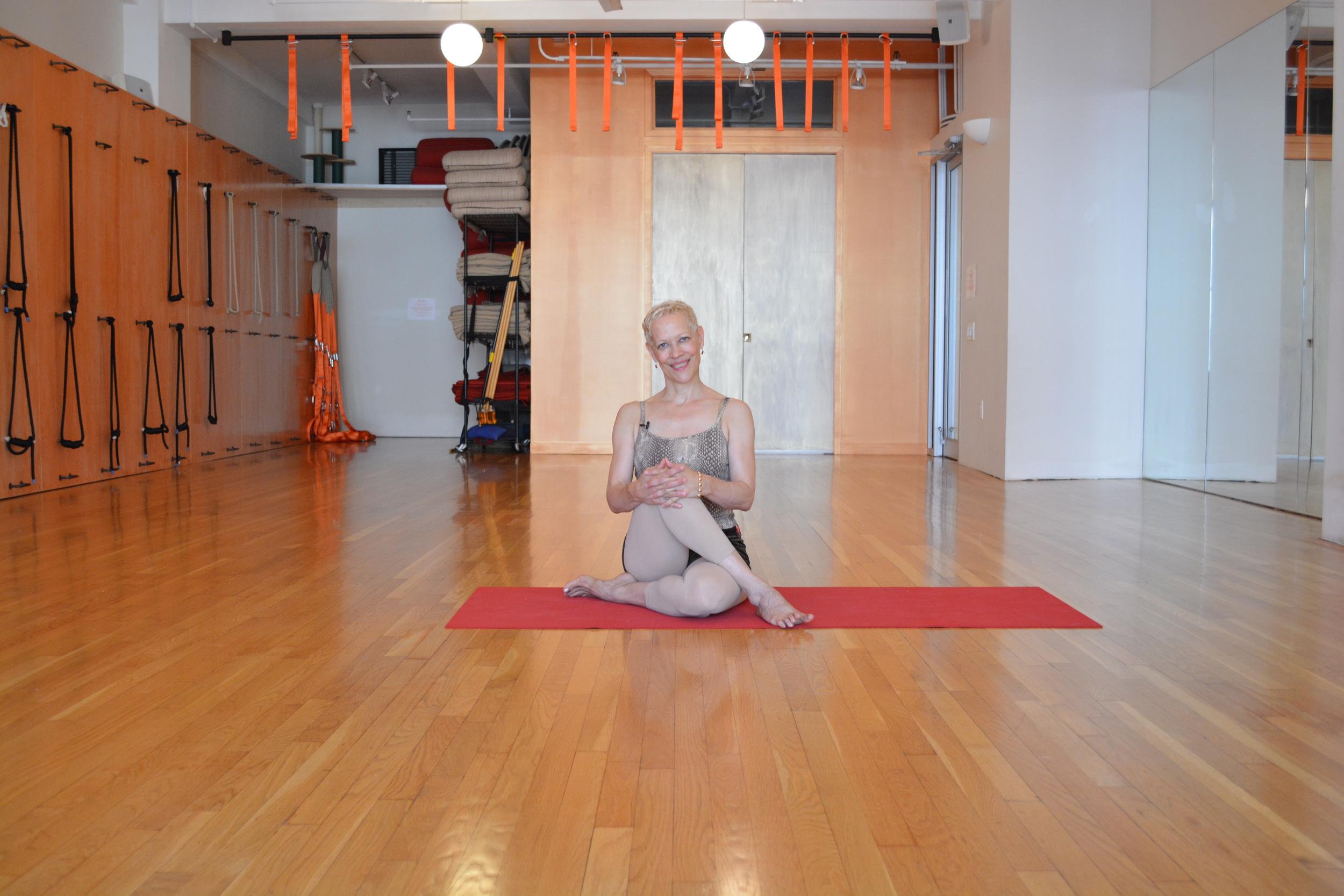Alison West at Yoga Union