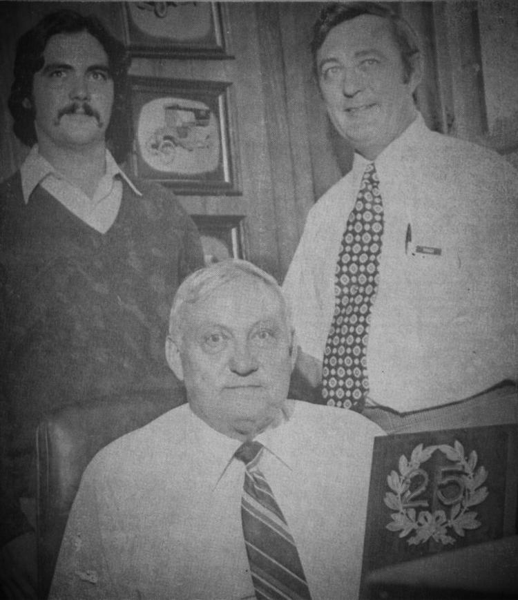 John Elliott, Frank G. Elliott, Michael Elliott - Bedford, OH 1975