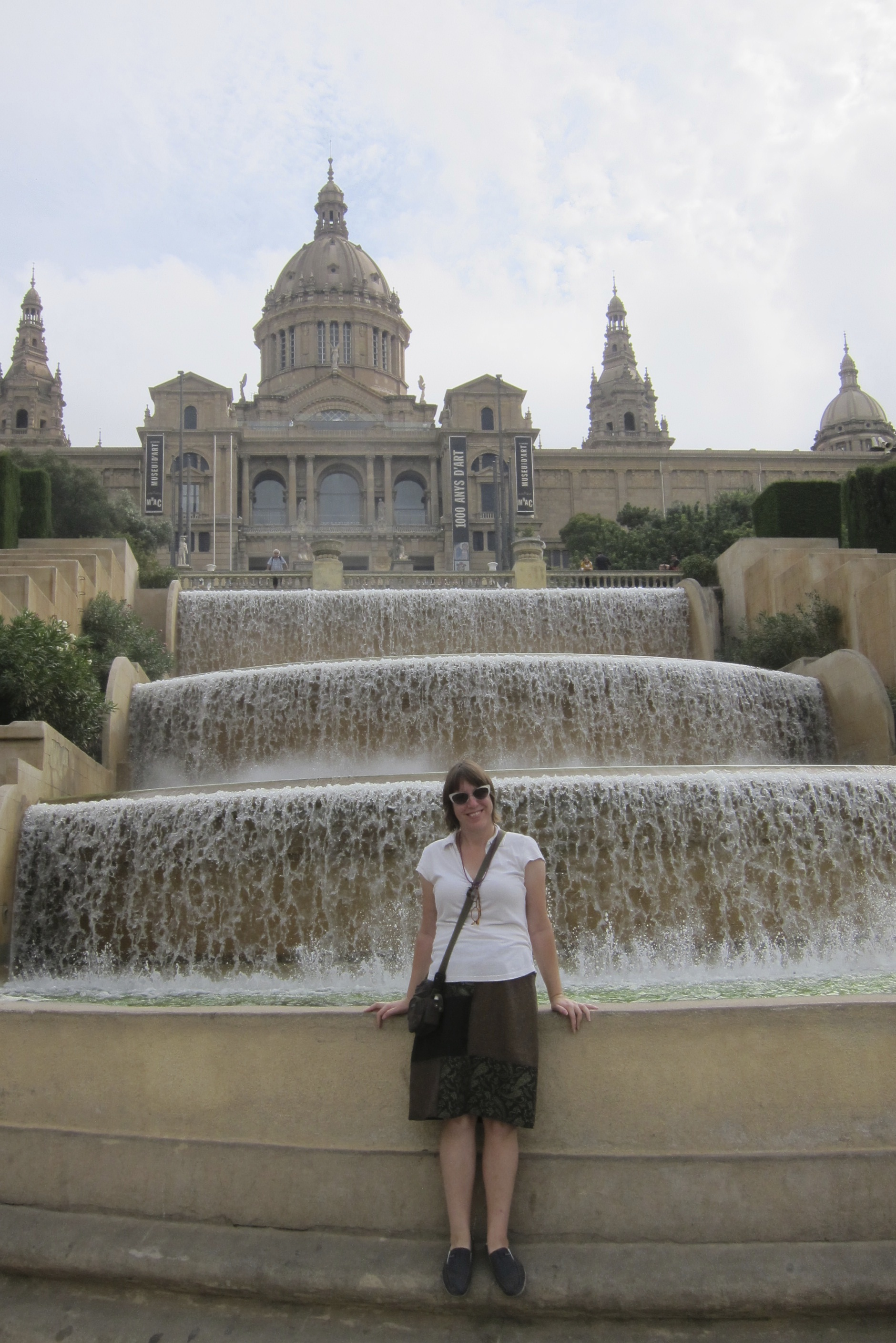 Exploring Barcelona - Monjuic Fountains