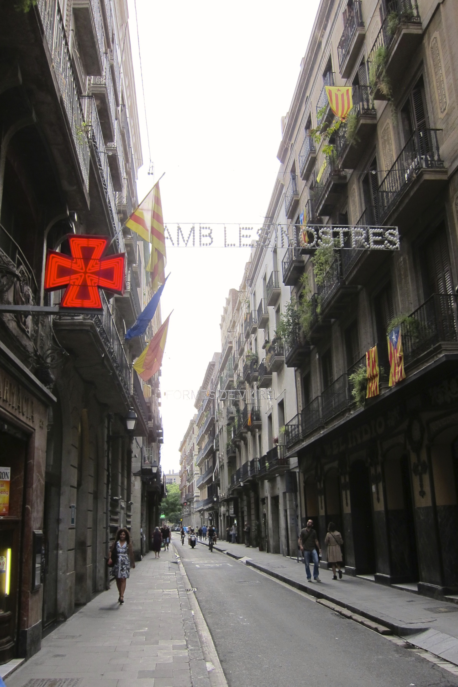Exploring Barcelona - Barri Gotic