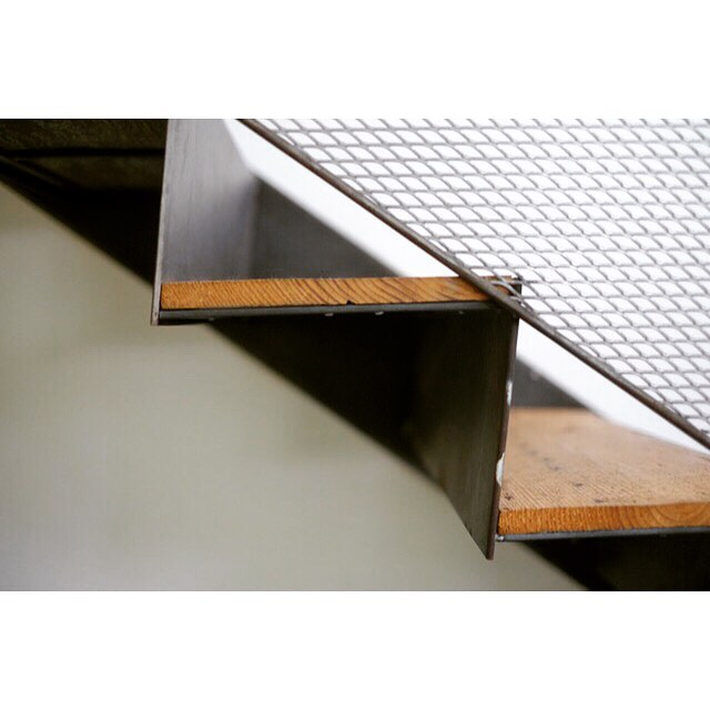 Looking back at some details of our stair for the Garden street Residence as a reference for a new project.  We built this one in-house and the handmade feel comes through nicely.  Do you like seeing slight imperfections and the evidence of the craftsman or do you appreciate absolute perfection and factory precision? . . . #design #architecture #architects #decor #stair #interiordesign #fabrication #instahome #home #archilovers #stairsdesign #patterns #architexture #customdesign #fab #archdaily #architecturephotography #atx #stairporn #modernarchitecture #steelfabrication #contemporaryarchitecture #detail #travel #arch #architects #stairs #staircase #designideas #photooftheday