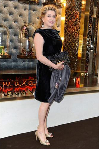 Catherine Deneuve @ Louis Vuitton Opening