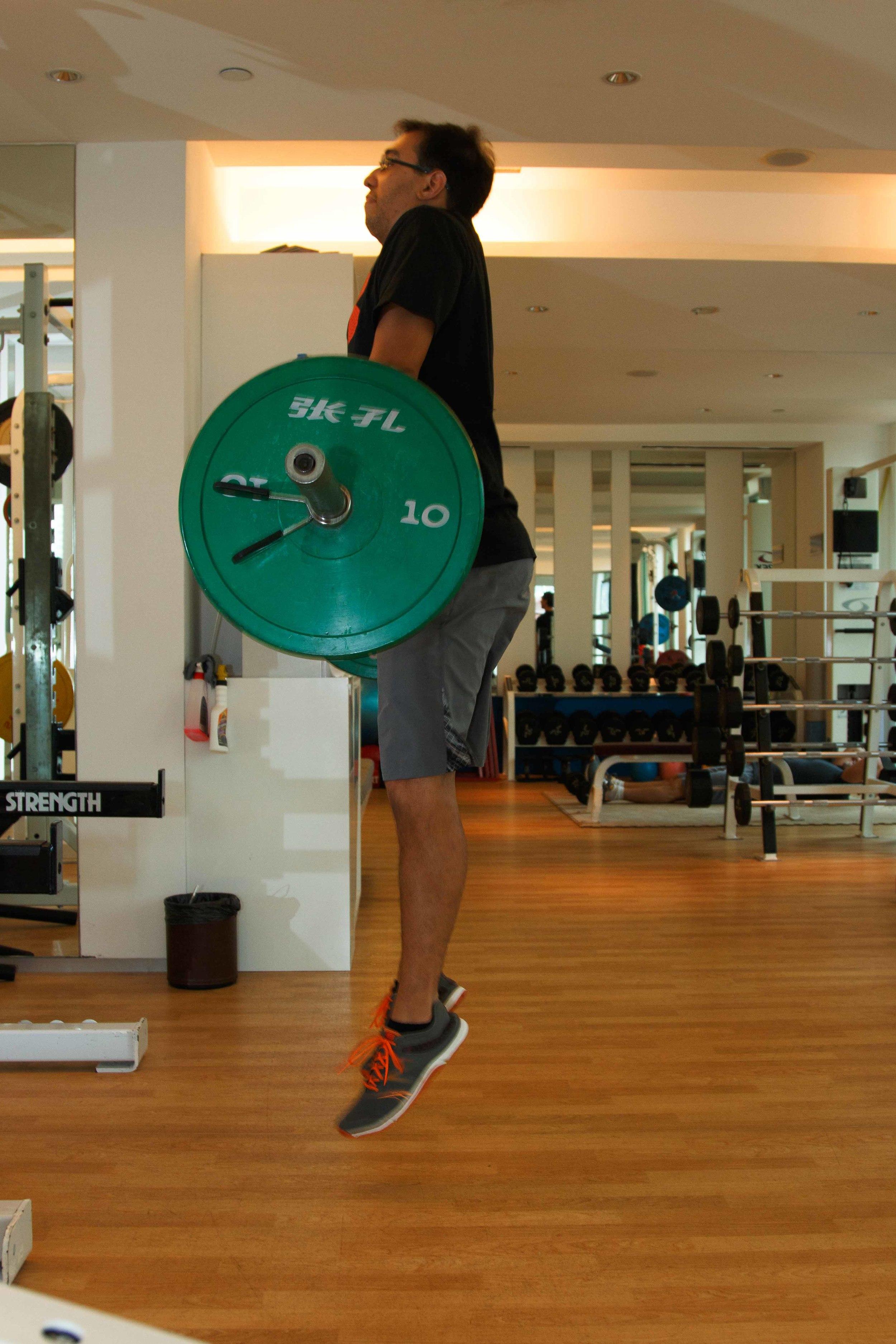 Coaches Singapore, IFC PT, Carl de Vries, Power Clean.jpg