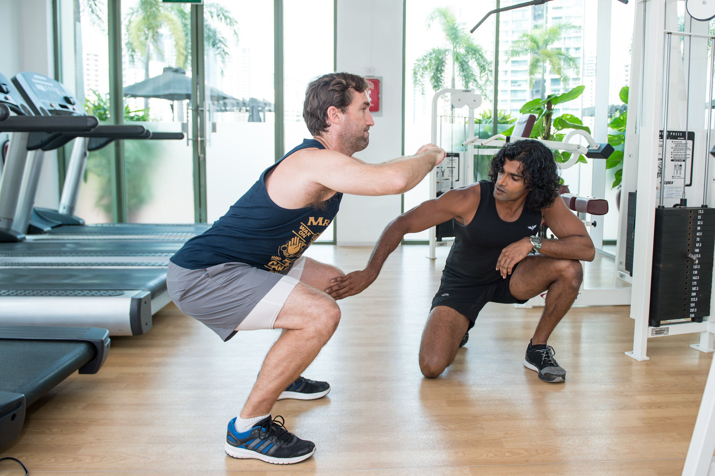 Bored with Squats IFC Personal Training Singapore