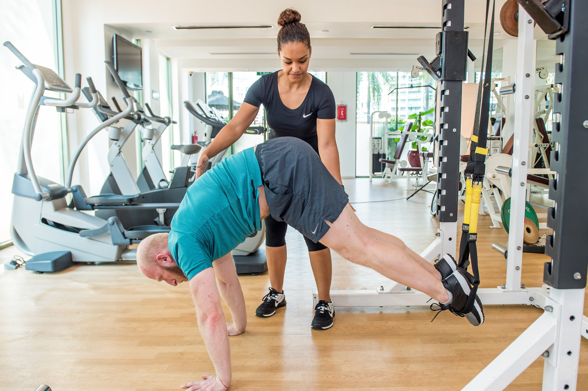 IFC-Wellness Personal Training Nat & Roddy TRX Pike