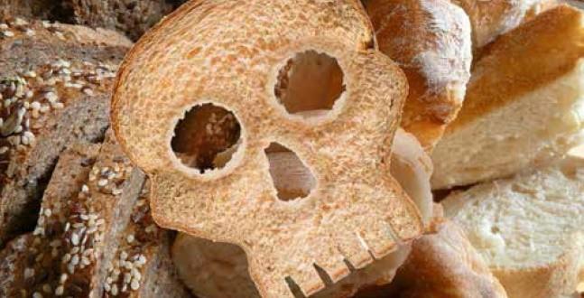 Gluten = Death (photo curtesy of natural awakenings website ( link ))