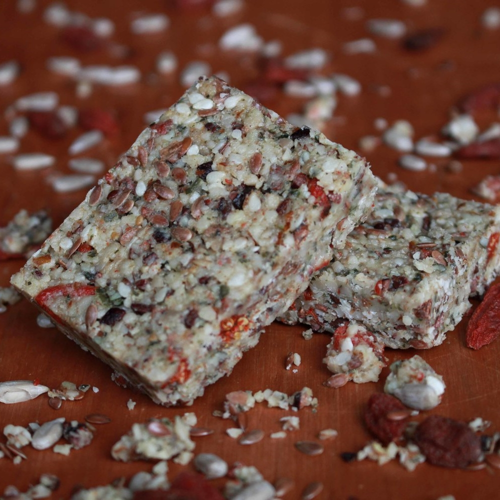 Super seed bars raw muesili free recipe