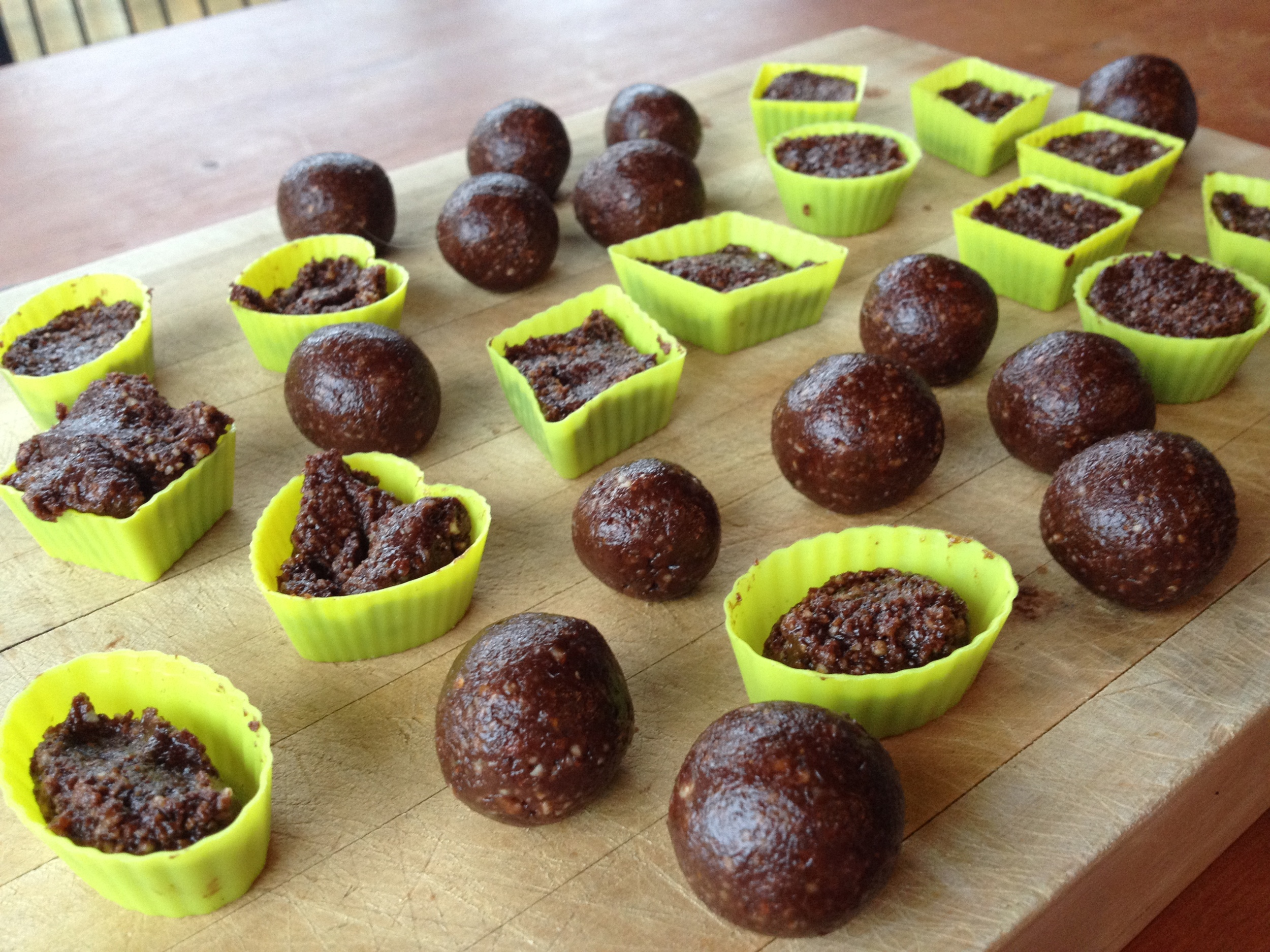 Double Chocolate Bliss Balls