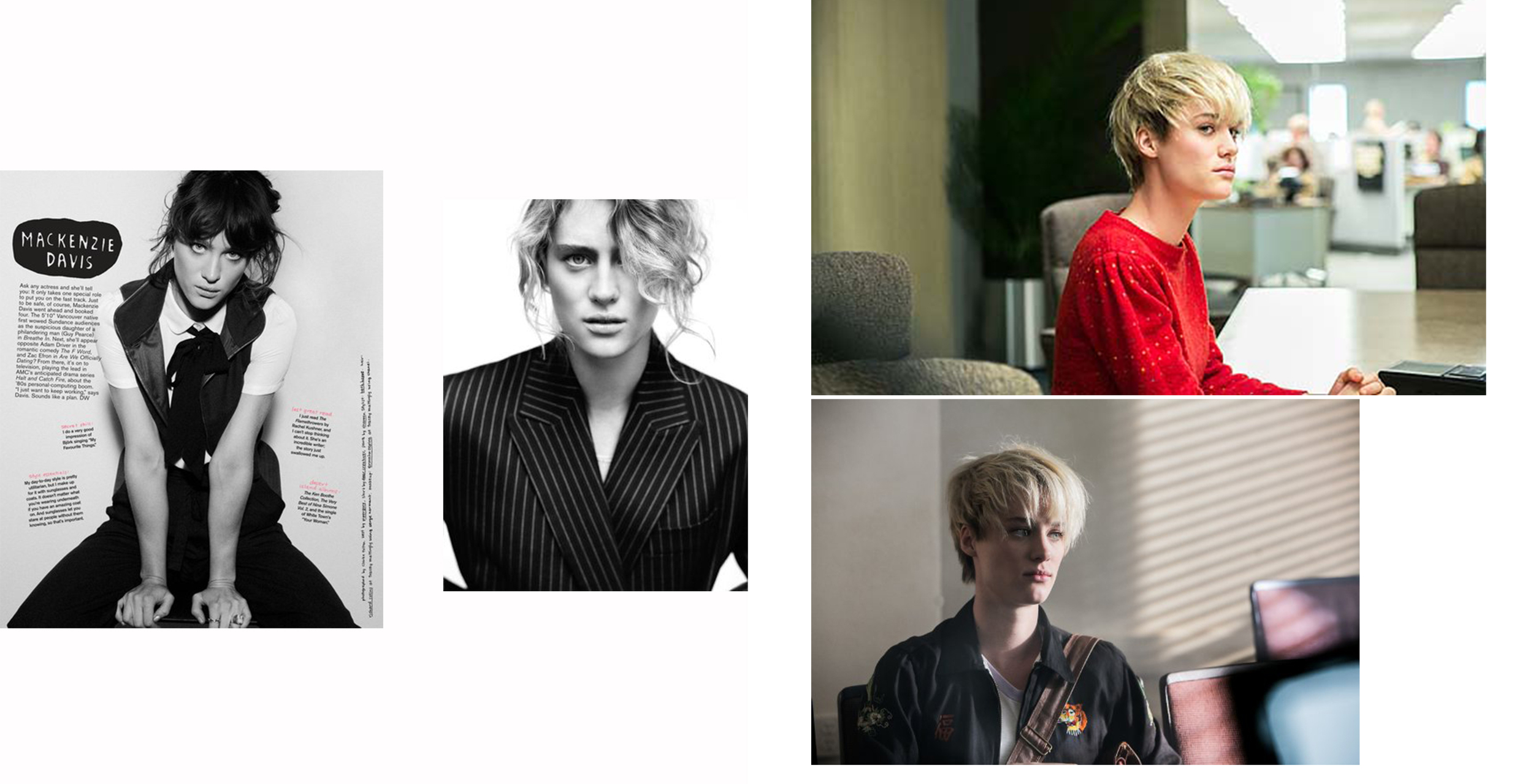 You may recognize her from That Awkward Moment, Mackenzie Davis. She is set to star in AMC's new serious Halt and Catch Fire.    http://www.amctv.com/shows/halt-and-catch-fire