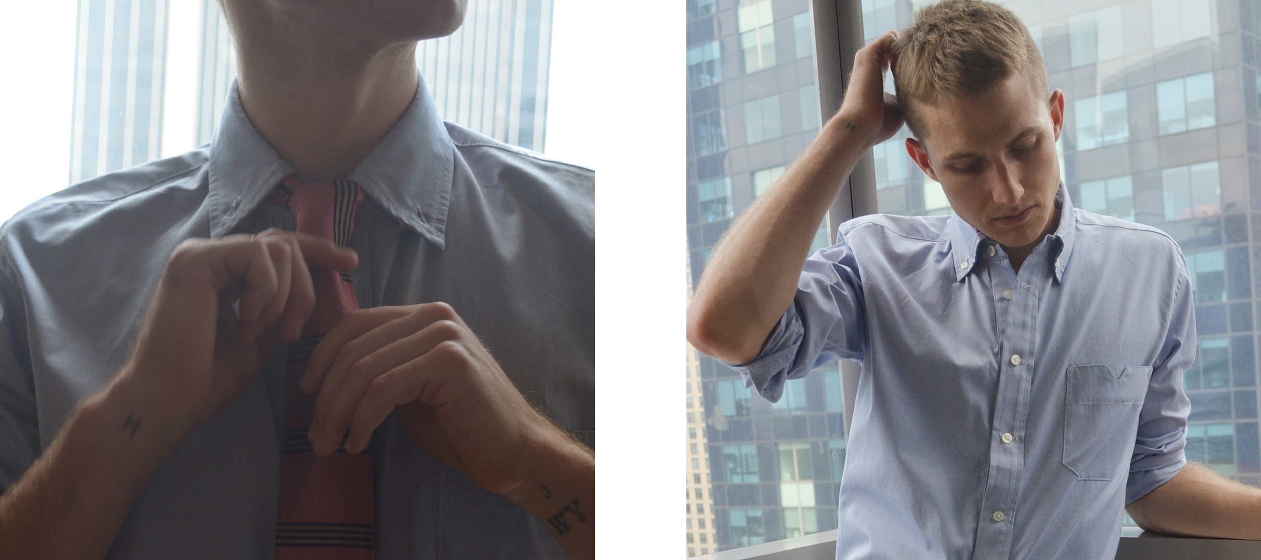 Wall Street Button-Down // Prep School Necktie