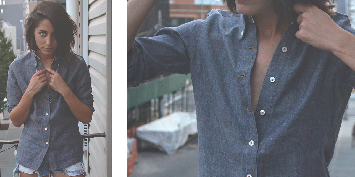 Broome Street Button-Down