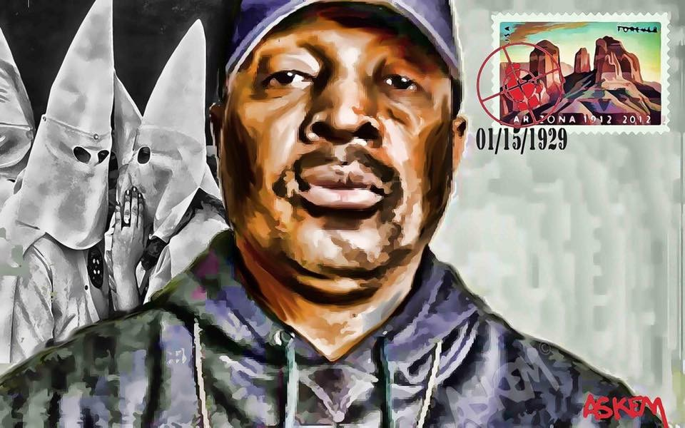 "Chuck D by Askem  ""The Time I Get To Arizona"""