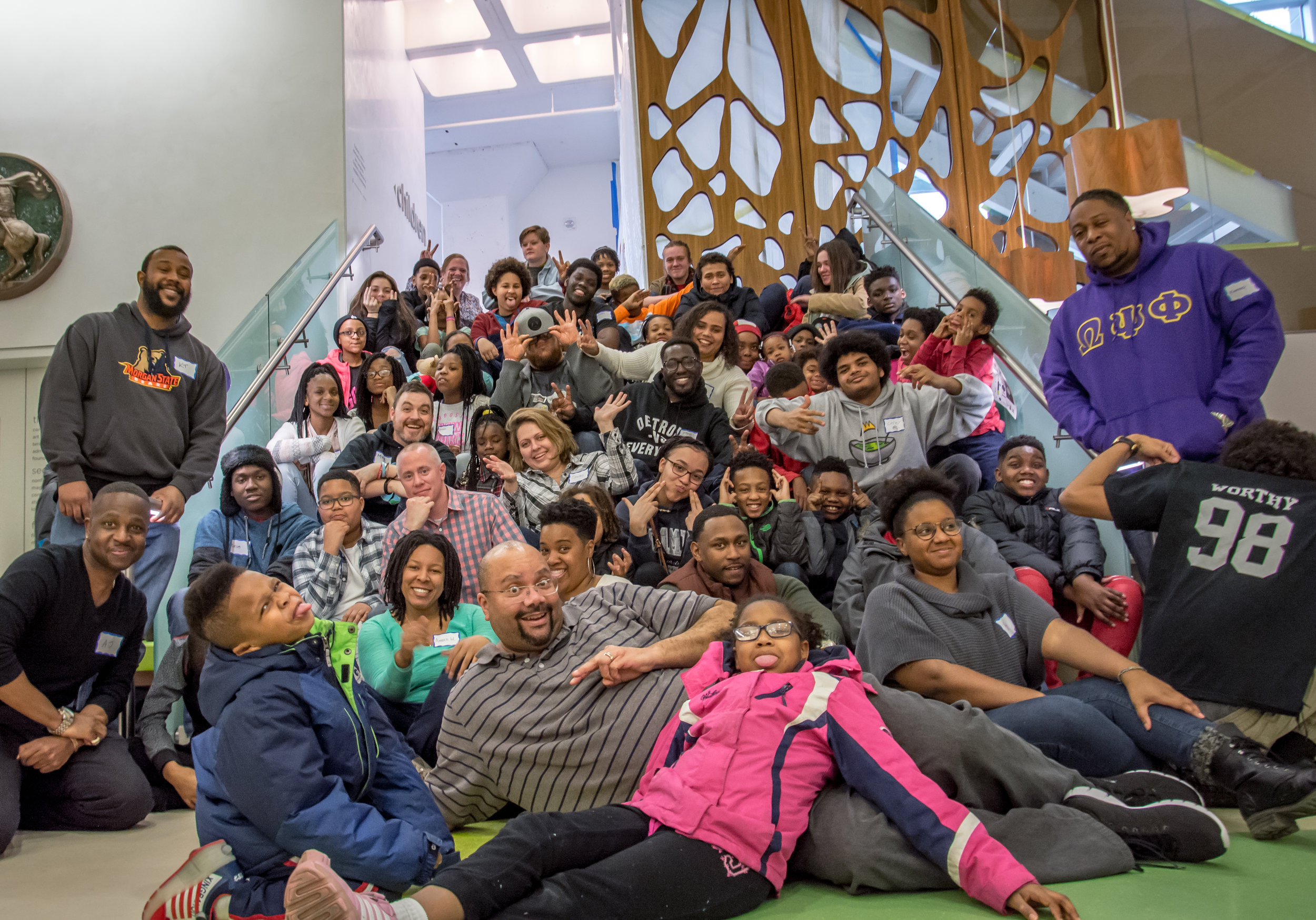 2017 Hip Hop Architecture Camp at Madison Public Library Photo by: MOD Media