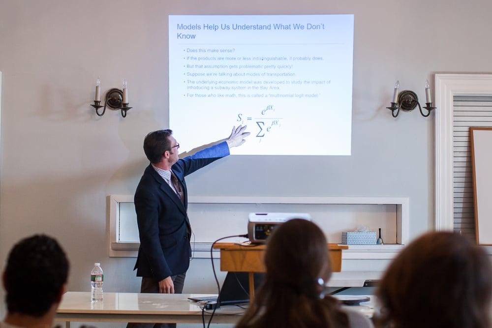 Nathan Barczi on Economics at a Teaching Saturday