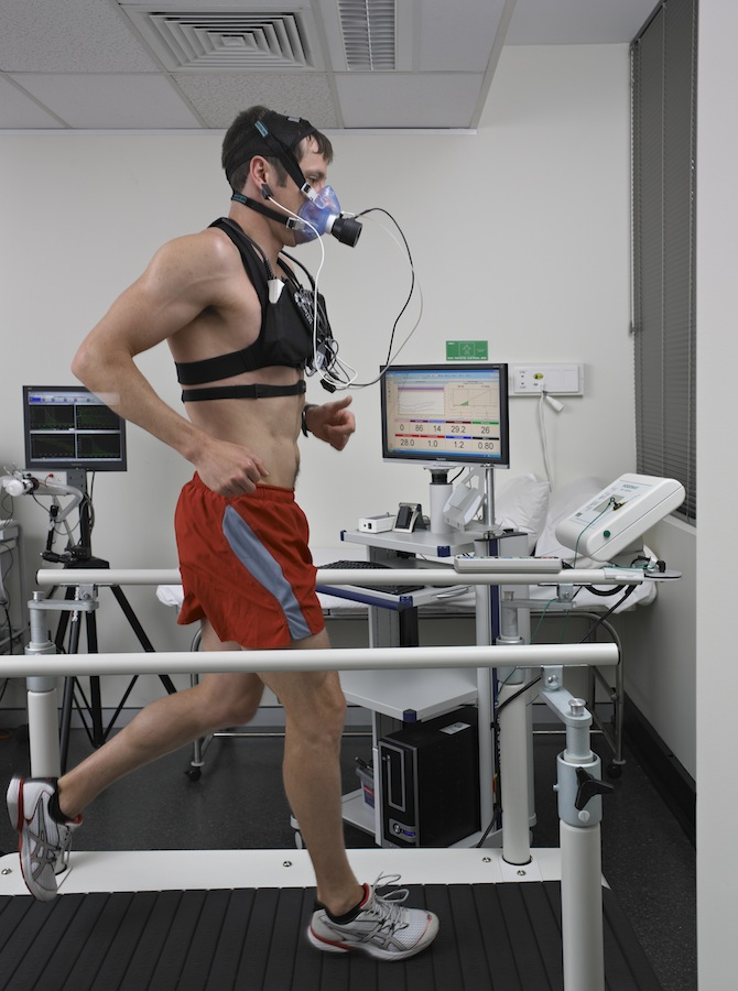 Exercise lung function testing