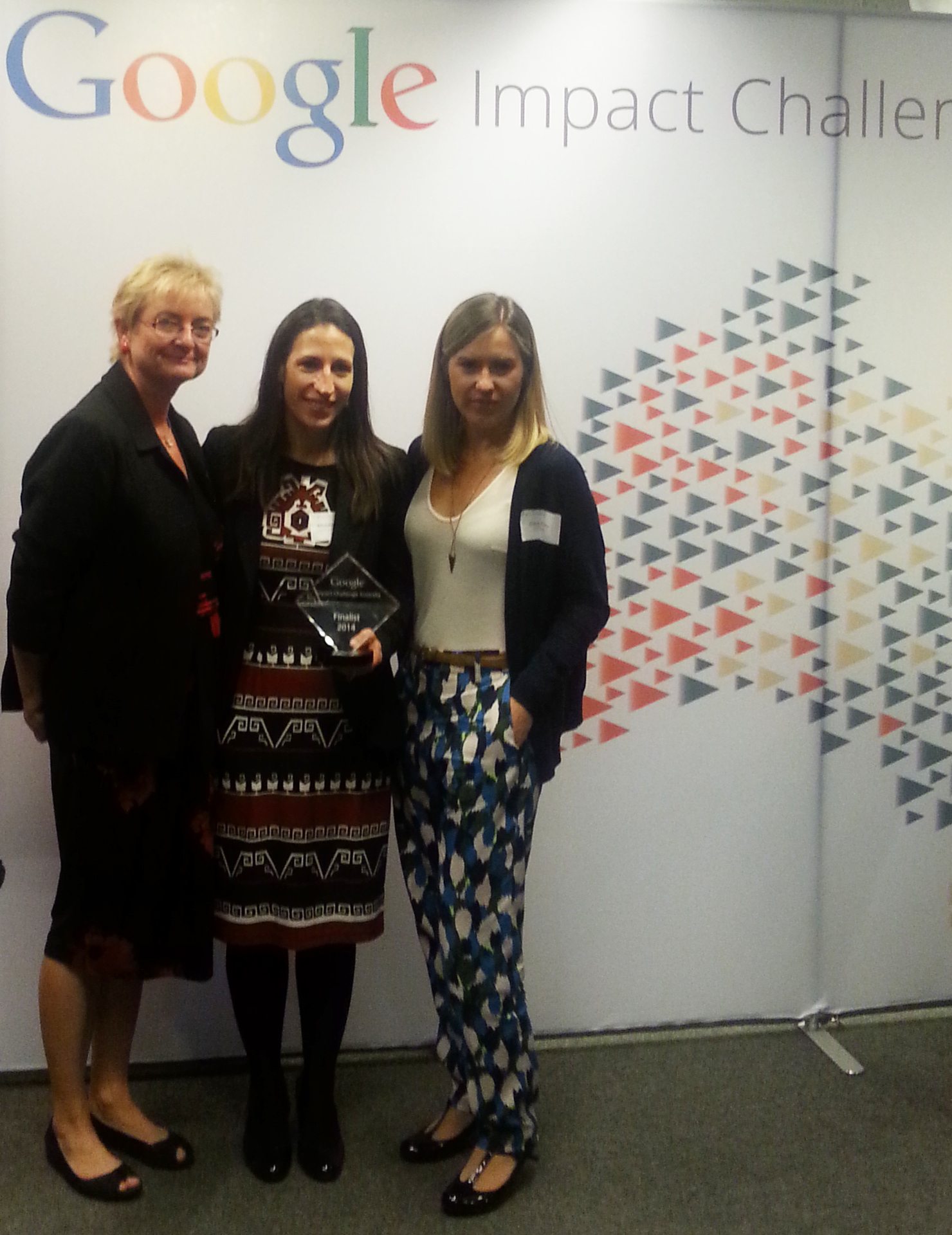 L to R: Prof Carol Armour (Woolcock Research Institute), Michele Goldman (Asthma Foundation NSW) and Grace Davey (BCG Digital Ventures)