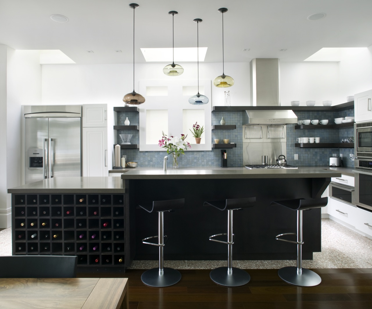 Kitchen modern design and renovations, home renovations Calgary general contractor company additions modern contemporary .jpg