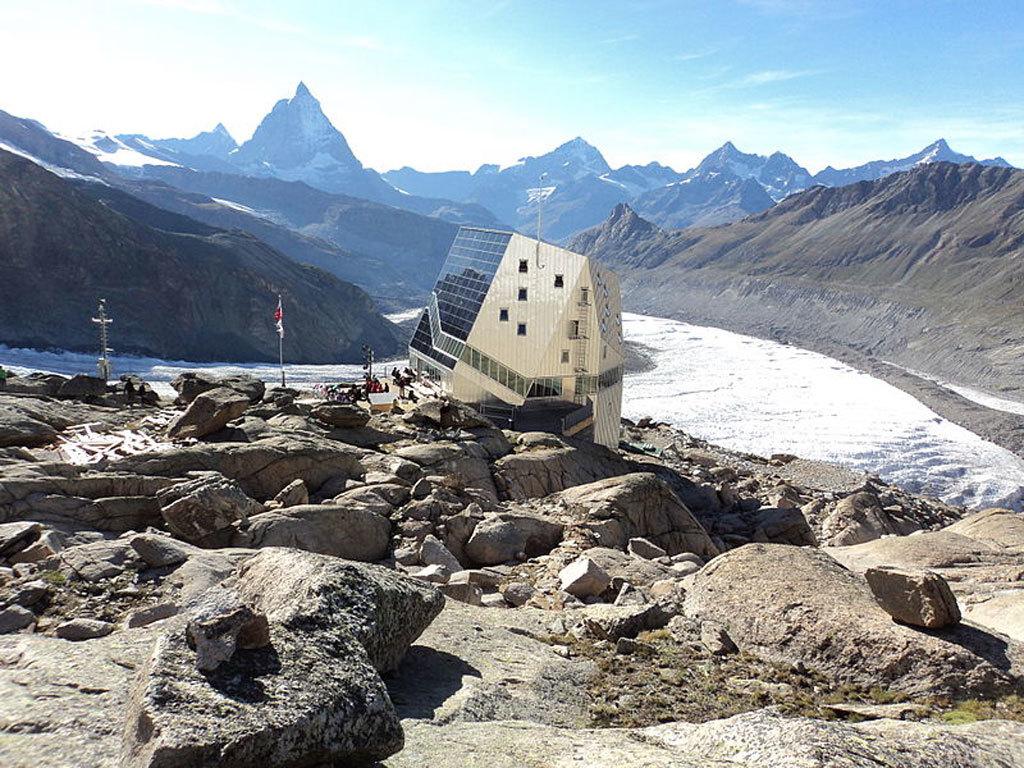New Monte Rosa Hut by Eth-Studio