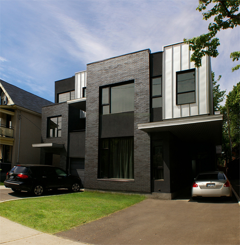 The First Avenue Semi-detached by Ottawa's Colizza Bruni Architecture