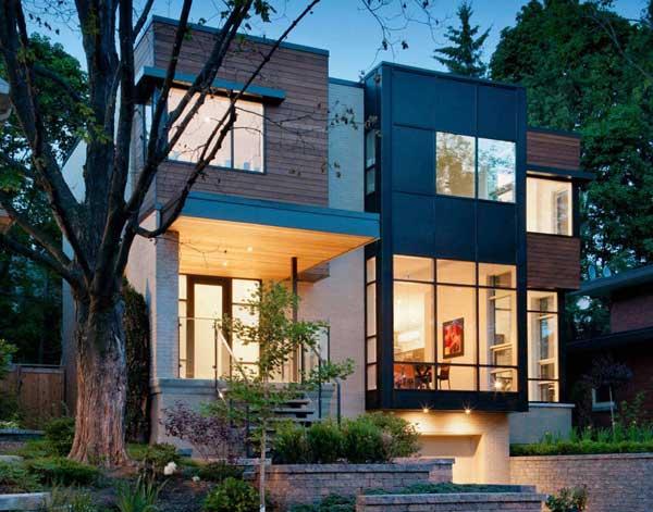 Best Custom Urban Infill – 2011 by Ottawa'sChristopher Simmonds Architects