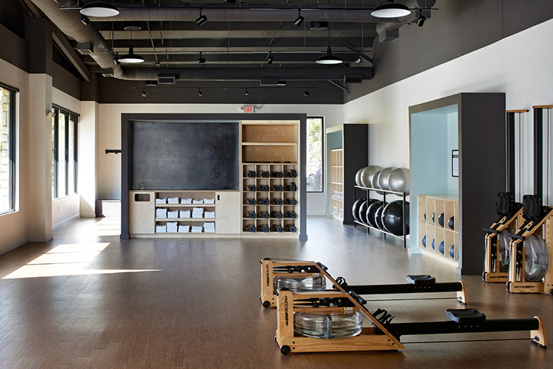 Health House (Gym) by Hufft Projects