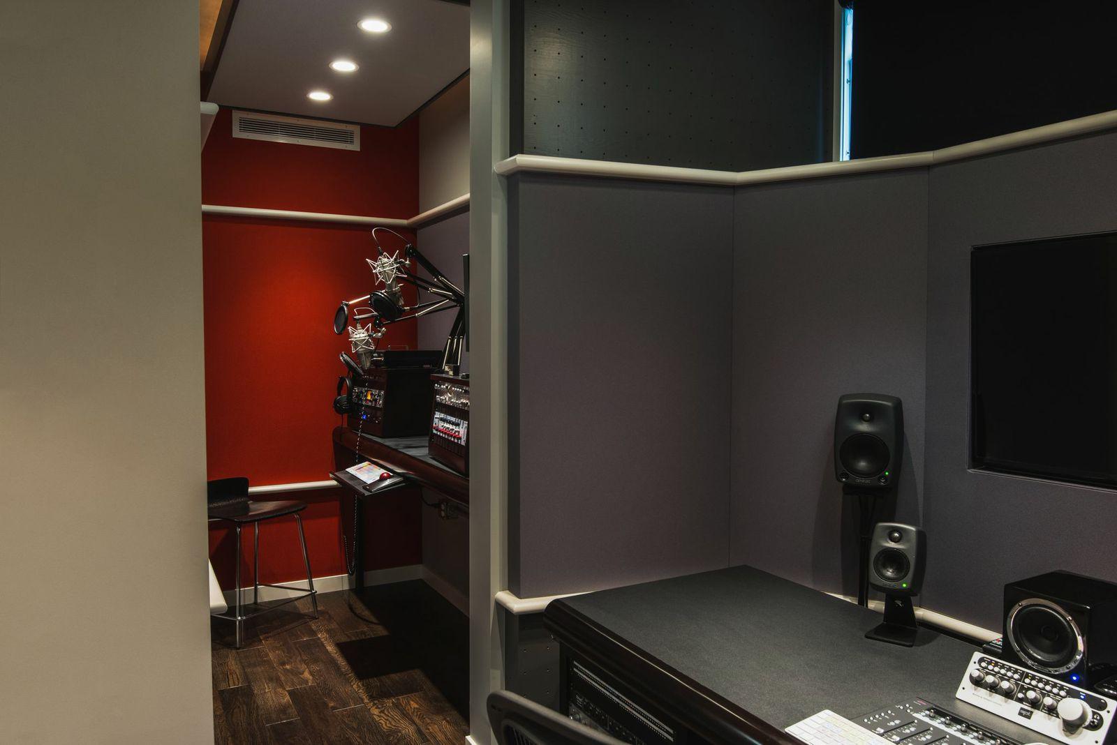 Recording Studio- Calgary; General Contractor: Harmony Home Projects Inc.