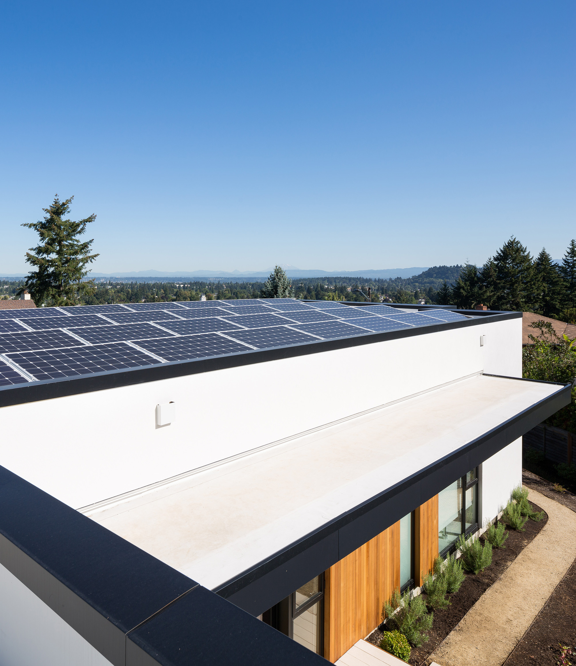 Passive solar heating by ASH + ASH / Hennebery Eddy Architects © Josh Partee