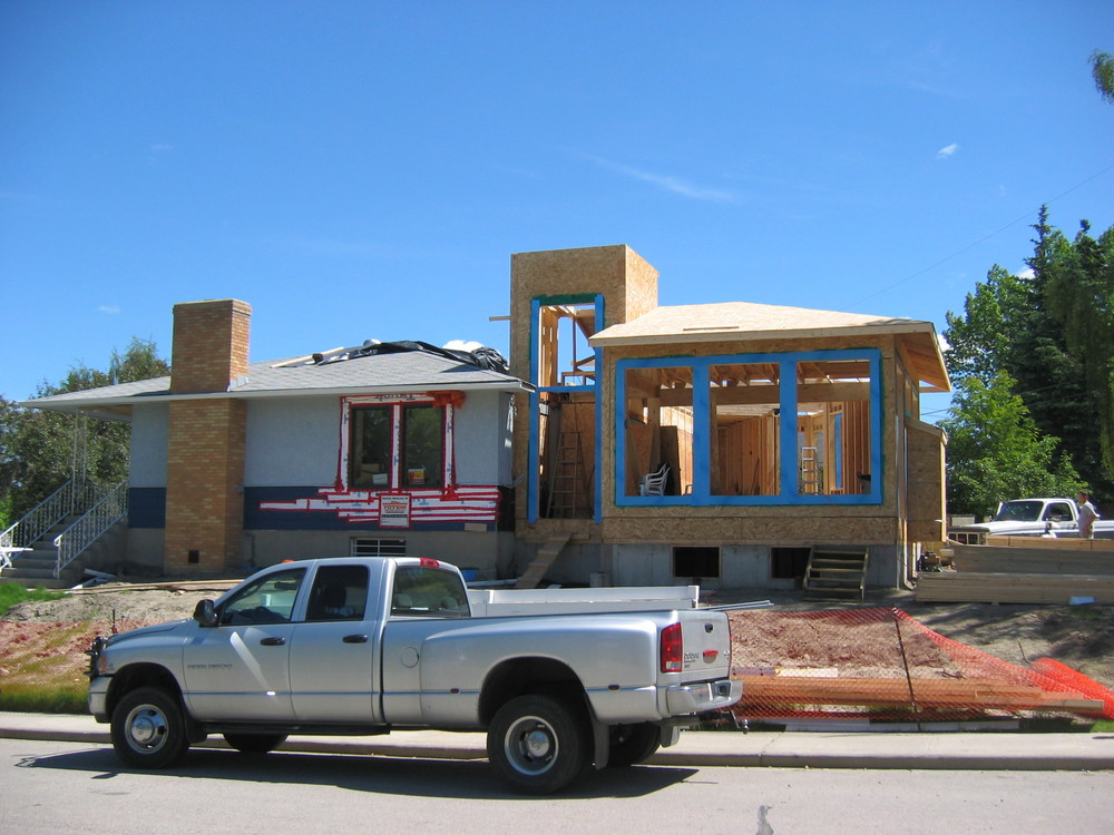 Home addition by Harmony Home Projects Inc.