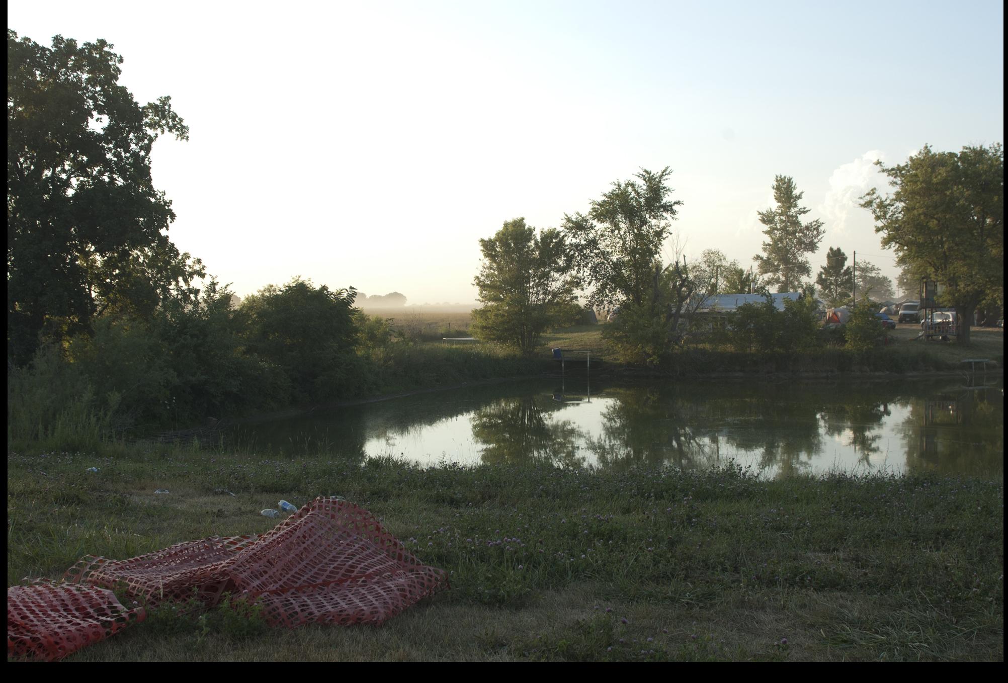 """ Final sunset on Cornerstone Farm ,"" 2012."