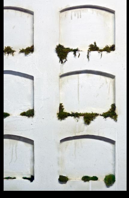 """"""" Untitled ,"""" Installation detail, 2014."""
