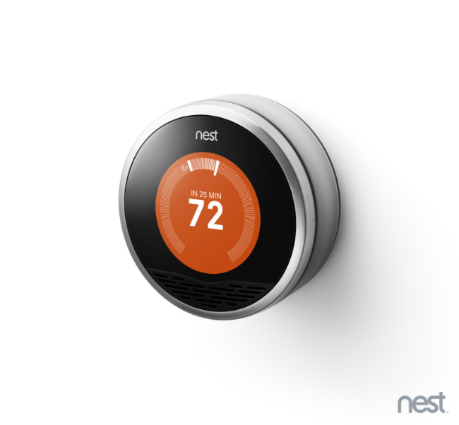 Nest thermometer: CC Image courtesy of Nest on Flickr.