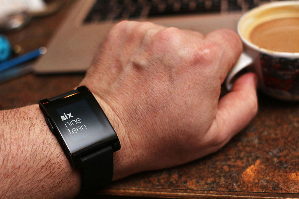 Pebble Watch: CC Image courtesy of Mark on Flickr