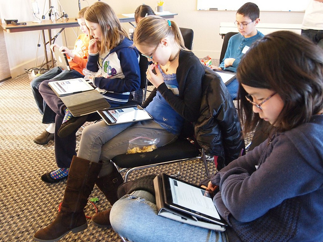 iPads in schools: CC Image courtesy of Brad Flickinger on Flickr