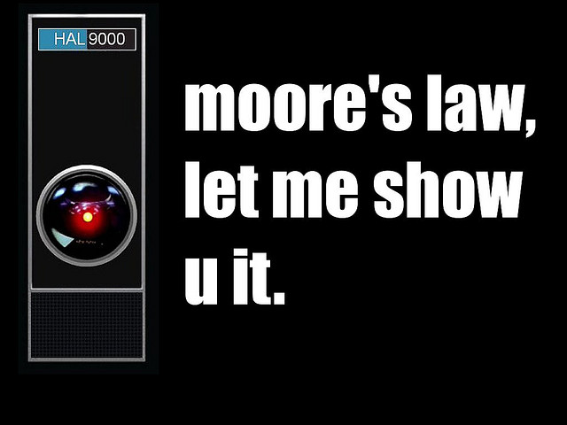 HAL 9000: CC Image courtesy of Michael Cornelius on Flickr