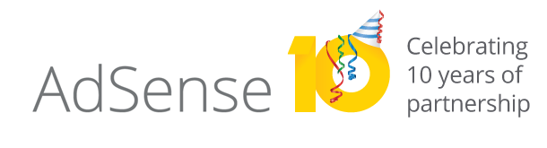 AdSense 10th Anniversary