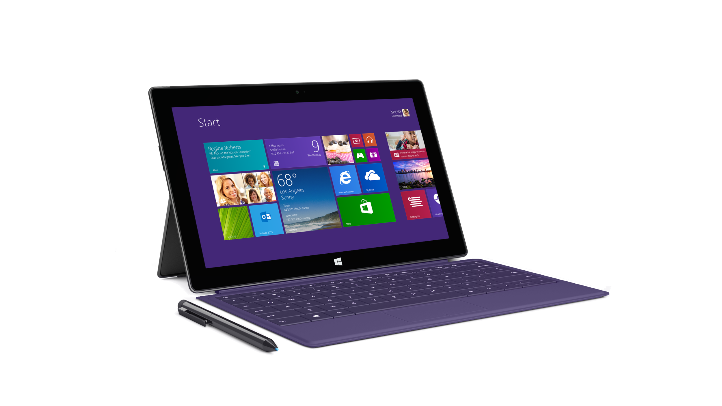 The Surface Pro 2. But, can it compete with the iPad and the long list of Android tablets?