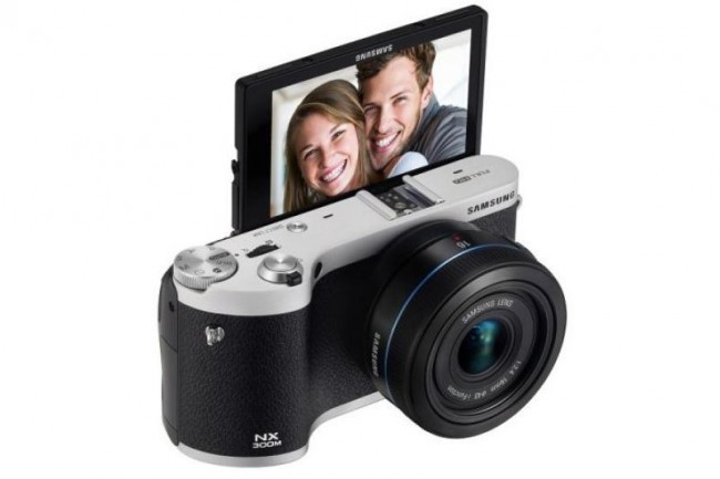 Samsung's Tizen camera, the NX300: image courtesy of Digital Trends.