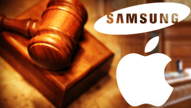 Apple vs. Samsung: image courtesy of CBS.