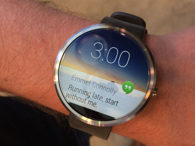 The Moto 360 will be the Android Wear device to beat. Image courtesy of Read Write.