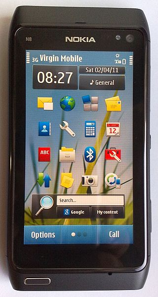 Nokia N Series phone