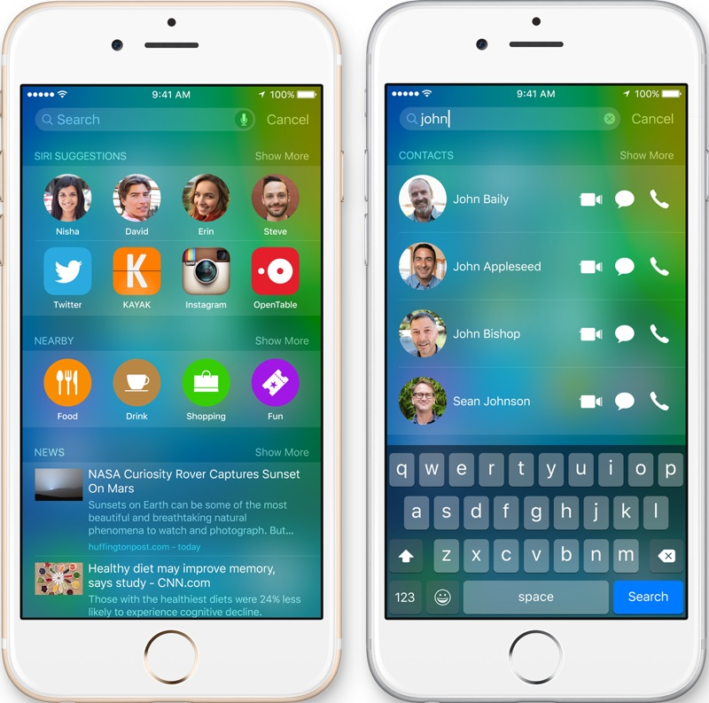 Siri could soon be answering customer voice mails and providing transcription services. Image courtesy of  MacRumors .