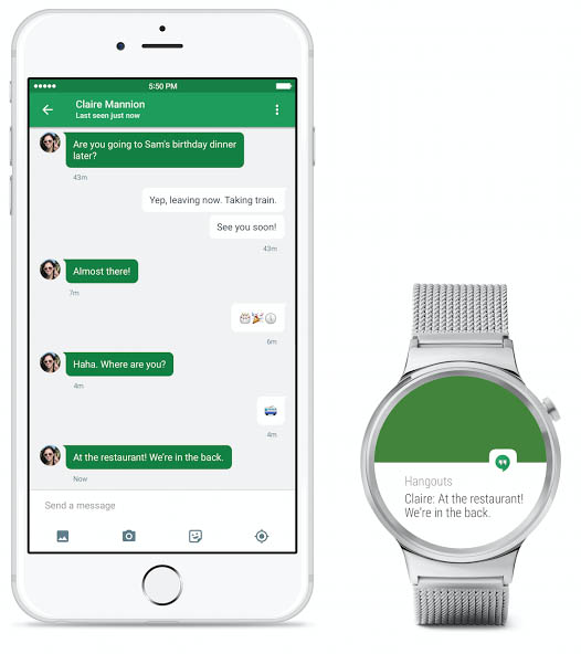 Google's Android Wear is now compatible with iOS.