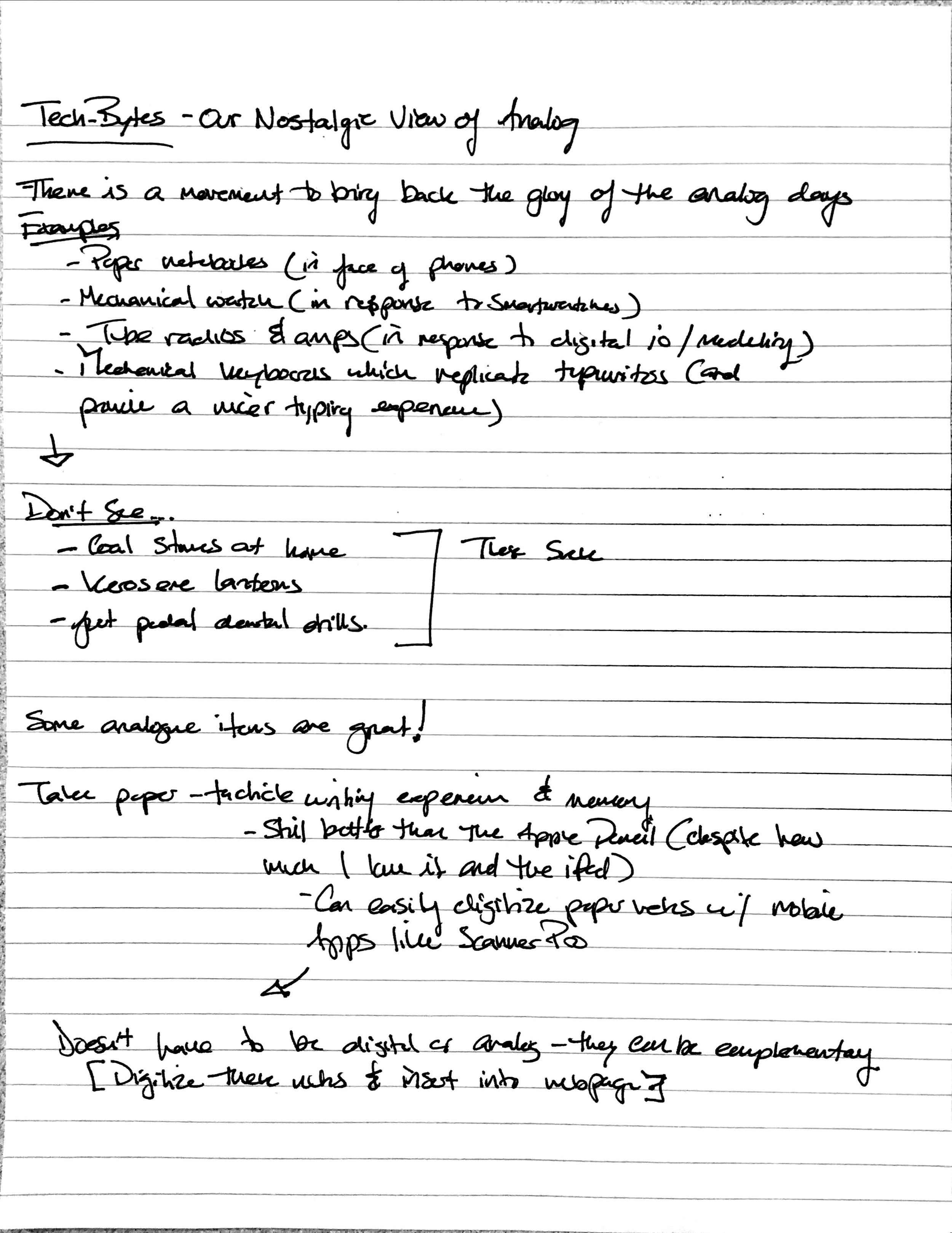 These notes were scanned using Scanner Pro